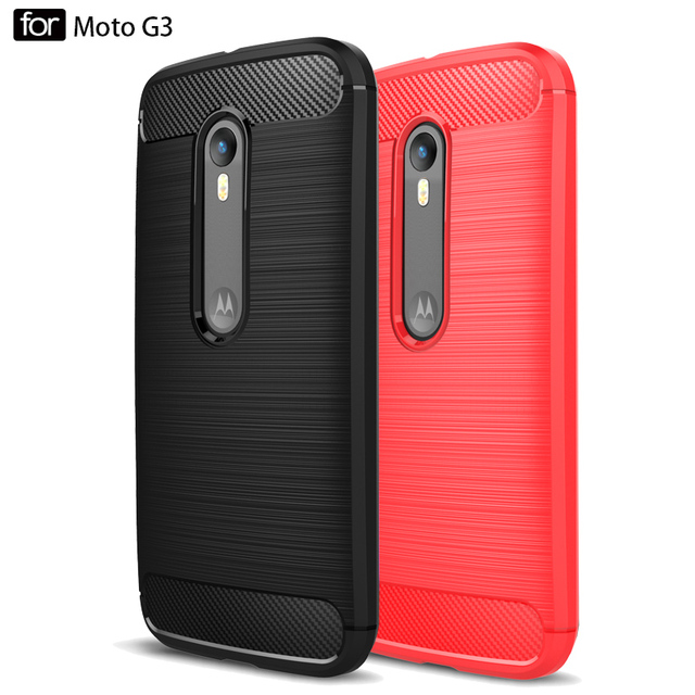 "iPngve Soft Silicone Back Cover Case For Motorola Moto G3 G 3rd Gen xt1550 5.0"" Anti-knock Phone Bag Luxury Fundas Coque"