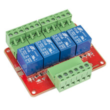 4-Channel DC5V Relay Module with Optocoupler High Level Trigger Expansion Board for Arduino Raspberry Pi DSP AVR PIC ARM