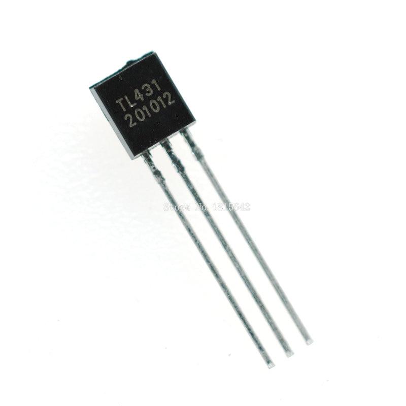 50PCS/Lot TL431 TL431A Tl431 431 TO-92 Regulator Tube Triode Transistor New