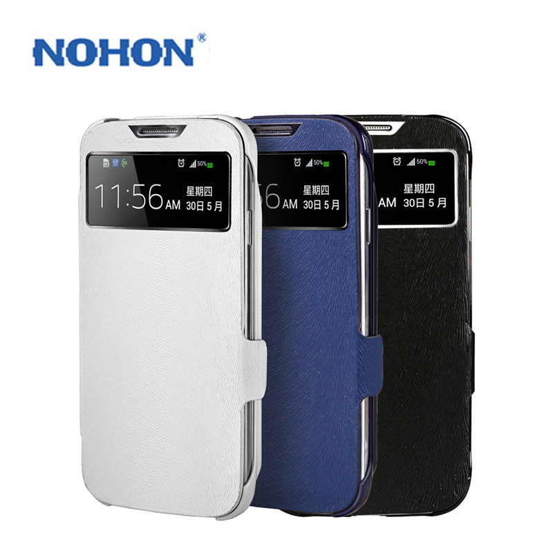 Original NOHON Phone Back Cover Battery Double Electric Case For Samsung Galaxy S4 I9500 I9508 I9502 I959 High Capacity 2600mAh