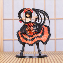 DATE A LIVE Nightmare Tokisaki Kurumi Standing Sexy PVC Action Figure Model Toys Anime Collection Gift 21cm цена