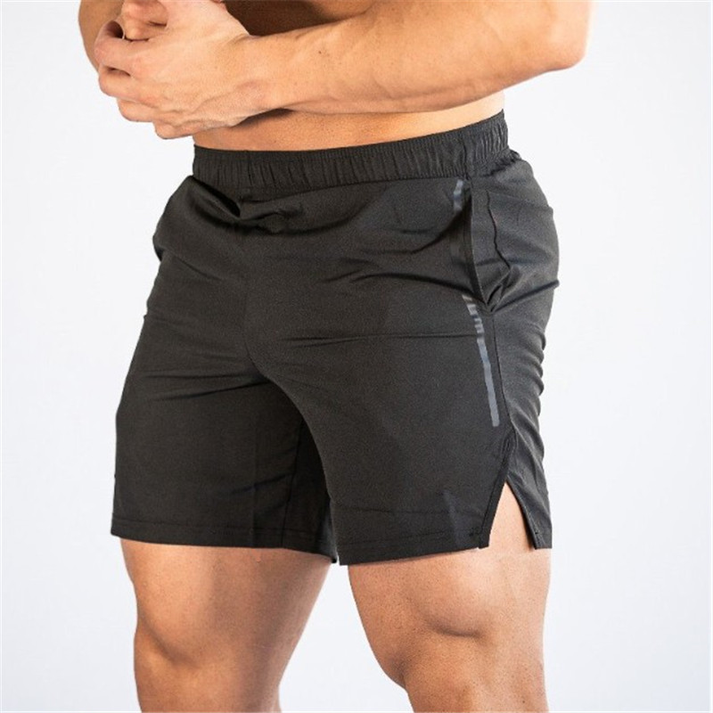 2019 New Summer Male Brand Shorts Men Fitness Bodybuilding Breathable Quick-Drying Mesh Shorts Joggers Sweatpants Fashion Shorts