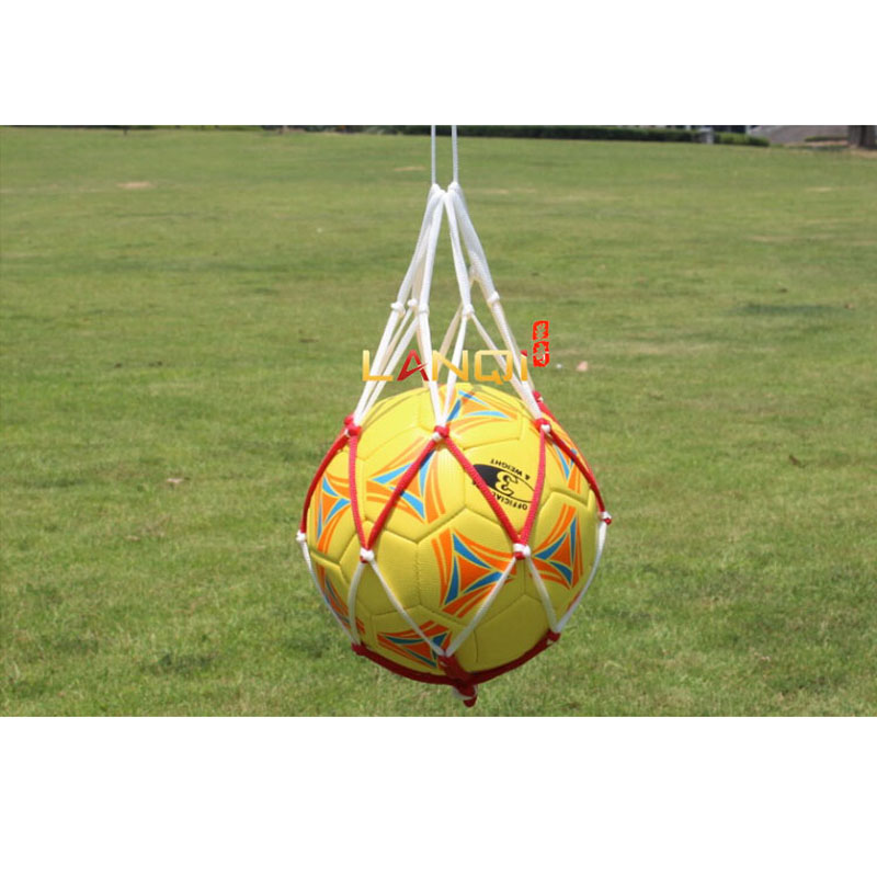 Soccer Ball Net Bag Football Dilly Bag For Basketball Volleyball Ball Pocket Handball Mesh Bag