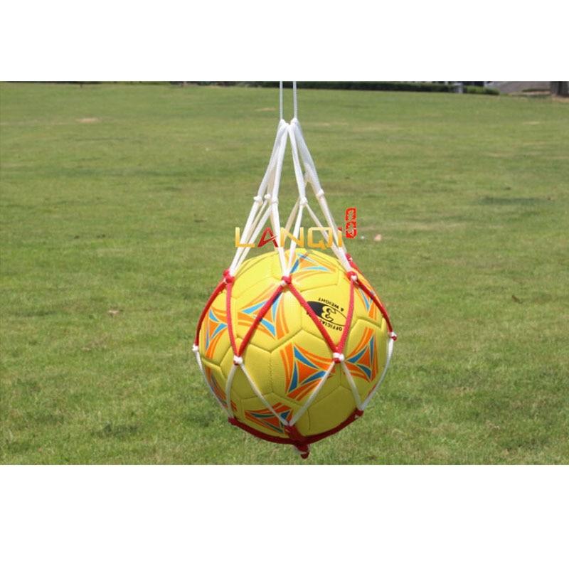 Soccer Ball Net Bag Football Dilly Bag For Basketball Volleyball Ball Pocket Handball Mesh Bag