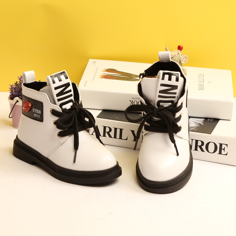 Children New Winter Snow Boots  Brand Kids Fashion Warm Cotton Boots Shoes for Boys Girls Hot Sale
