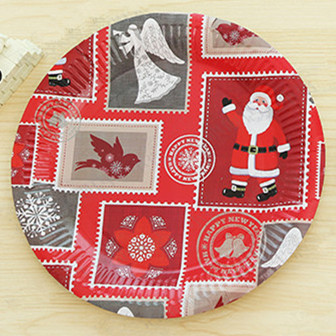 Aliexpress.com  Buy Merry Christmas Party Plates 50pcs Large 9inch/23cm Christmas Party Paper Dinnerware Snowflakes Jingle Bells Round Plates from Reliable ... & Aliexpress.com : Buy Merry Christmas Party Plates 50pcs Large 9inch ...