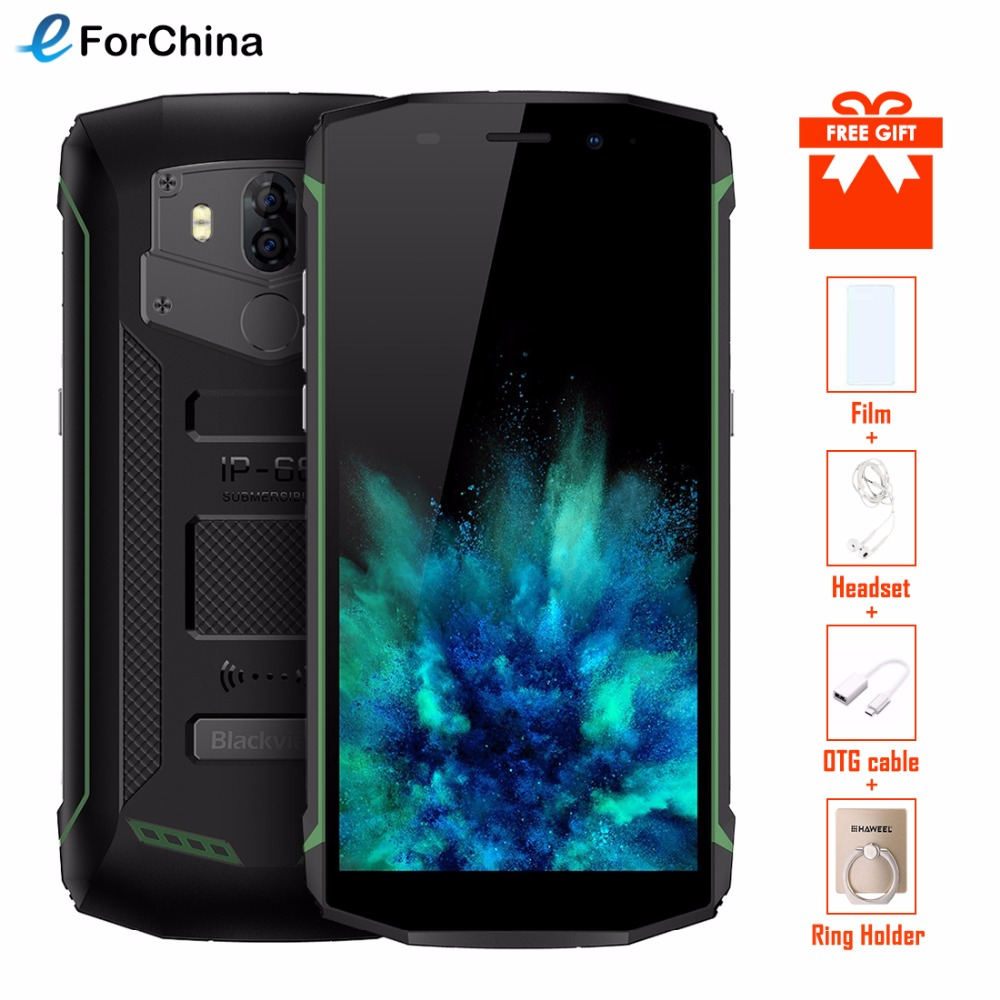 Blackview BV5800 Smartphone IP68 Waterproof 5 5inch 18 9 HD Android 8 1 Mobile Phone Dual