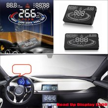 For Jaguar F Type 2015 2016 Car Head Up Display Saft Driving Screen Projector – Refkecting Windshield