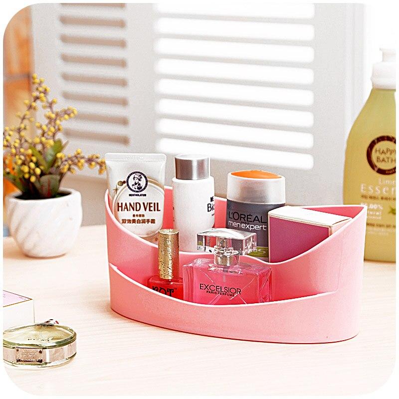 Fashion Desktop plastic storage box remote control, office sundries storage box finishing cosmetic box