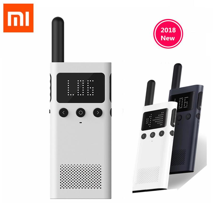 Update Version Xiaomi Mijia Smart Walkie Talkie 1S With FM Radio Speaker Standby Smart Phone APP Location Share Fast Team Talk