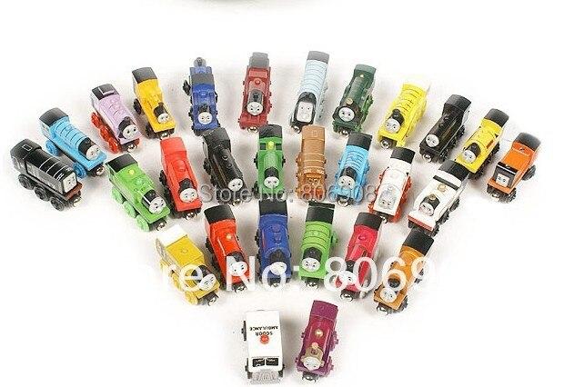 ,Hot 92 style 10pieces/lot Thomas Tank Engine Wooden TRAIN &CAR,Thomas friends train car toy - No 1 Retail Shop store