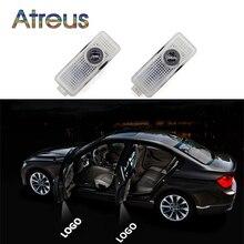 Atreus двери автомобиля Добро пожаловать лампы для Mercedes-Benz CLS CLA C207 CLK SLK аксессуары автомобилей LED Предоставлено Тень лазерные лучи автомобиль-Стайлинг