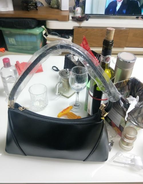 Vintage Leather Handbag...