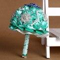 2016 Bridesmaid YIYI свадебный букет индивидуальные свадебные цветы роскошные свадебные букеты искусственный букет невесты WB014