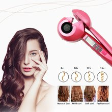 LCD Screen Automatic Hair Curler Electric Styling Tools Cera