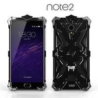 Luxury For Meizu Meilan Note 1 2 Back Cover Simon THOR IRONMAN Shockproof Metal Aluminium Frame