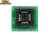 PLCC28 إلى DIP28 Yamaichi IC البرمجة محول اختبار و حرق في المقبس ل ل PLCC28 حزمة 1.27 مللي متر الملعب