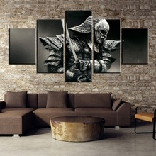 5 Pieces HD Print Samurai V3  Painting Canvas Wall Art Picture Home Decoration Living Room Decor