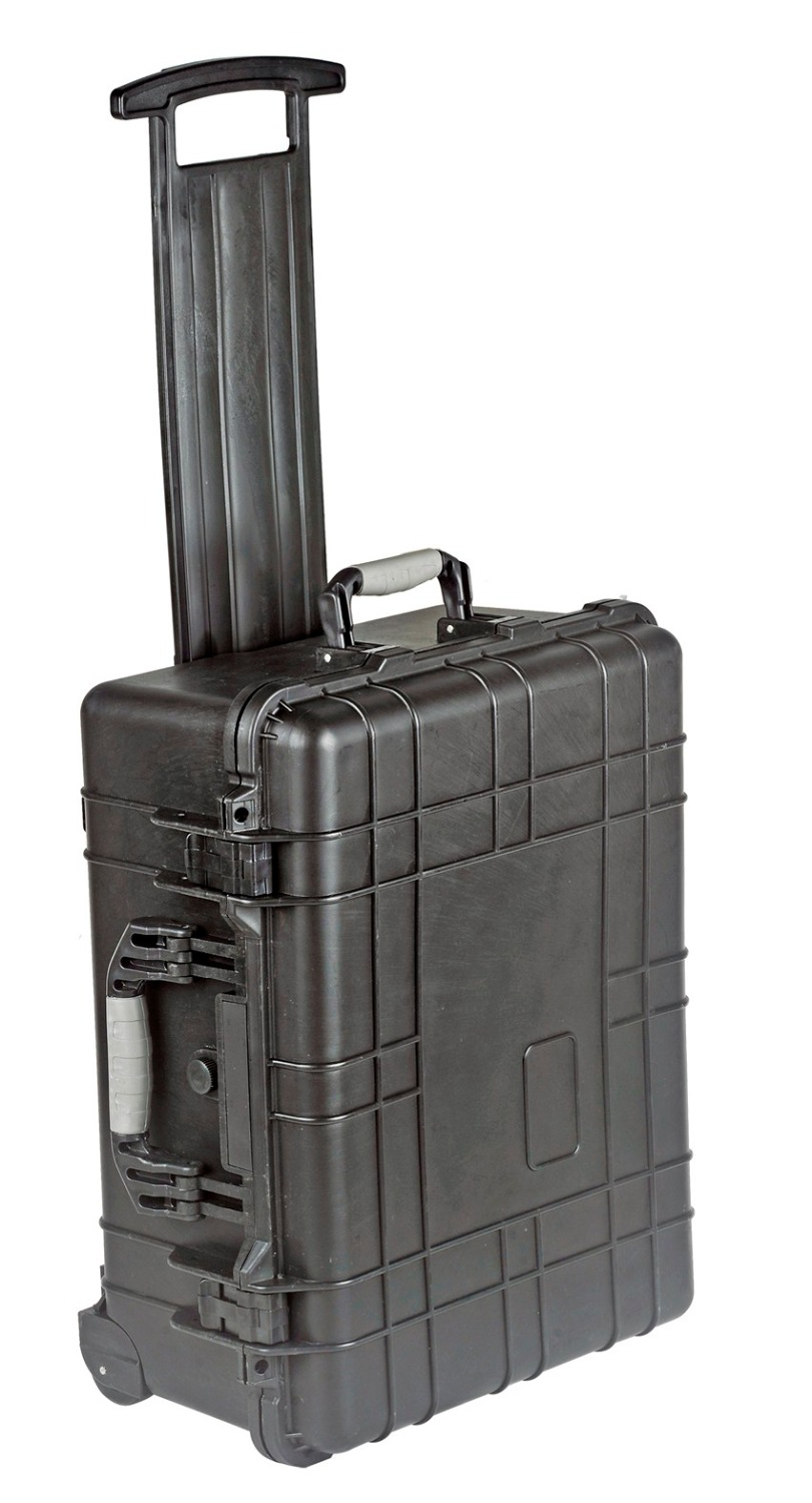 501*279*193mm Waterproof Trolley Case Toolbox Tool Case Protective Camera Case Equipment Box With Pre-cut Foam
