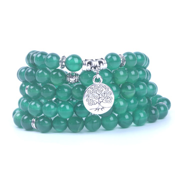 Bracelet Mala Bouddhiste Arbre de Vie