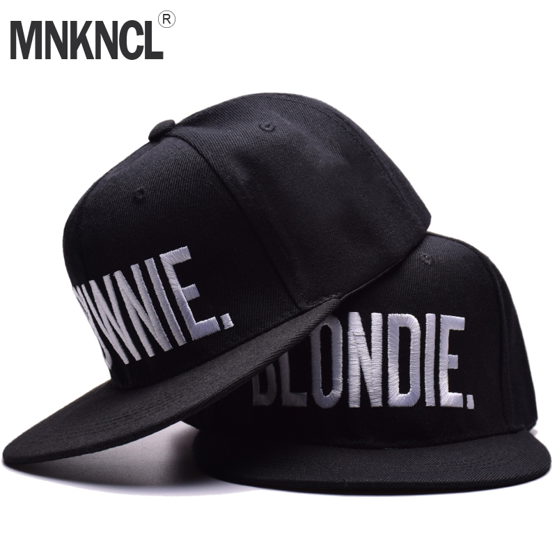 BLONDIE BROWNIE Letter Embroidery Baseball Cap Flat Bill Men Women Cotton Gifts Hip Hop Hat For Him Her Trucker Snapback Hats unsiex men women cotton blend beret cabbie newsboy flat hat golf driving sun cap
