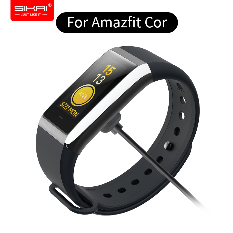 SIKAI 1M/3FT USB Fast Charging Data Charger Magnetic Cable for <font><b>Huami</b></font> <font><b>Amazfit</b></font> <font><b>COR</b></font> <font><b>2</b></font> and 1 bracelet A1702 Watch Low Temperature image