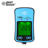 Handheld Automotive Oxygen Meter High Precision Gas Tester Monitor Detector with LCD Display Sound and Light Vibration Alarm