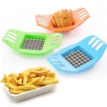 Случайный цвет, резак для картофеля, Чипса, овощерезка для фруктов, измельчитель, измельчитель, нож для резки 301-0404