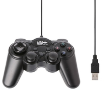 OOTDTY USB 2.0 Gamepad Gaming Joystick Wired Game Controller For PC Computer Laptop