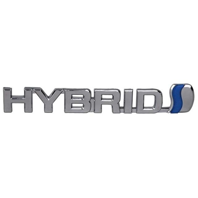 Mayitr 15 2cm Car Styling Abs Hybrid Badge Emblem Sticker Decal For Toyota