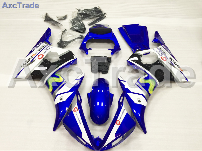 Motorcycle Fairings Kits For Yamaha YZF600 YZF 600 R6 YZF-R6 2003 2004 2005 03 04 05 ABS Injection Fairing Bodywork Kit Blue