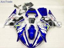 Мотоцикл Обтекатели Наборы для YAMAHA YZF600 YZF 600 R6 YZF-R6 2003 2004 2005 03 04 05 ABS инъекции обтекателя Кузов комплект синий