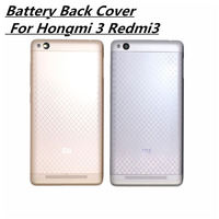 5 0 New For Xiaomi Redmi 3 Battery Back Cover Case 5 Inch Hongmi 3 Redmi3