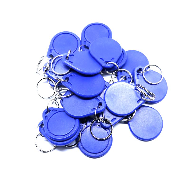 50PCS 13.56MHz IC CUID UID Changeable Keyfob Block 0 Writable Compatible MF1 Classic 1k s50 Support Android App MCT 50pcs lot uid changeable nfc ic tag rfid keyfob token 1k s50 13 56mhz writable iso14443a