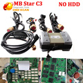 Best Quality MB Star C3 Professional for Merc-edes-Ben z Diagnostic Tool All New  Relay without HDD DHL Fast SHIPPING