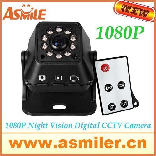 HOT Night Vision Digital CCTV Camera HD 1080P Portable Surveillance Camera +Wireless remote control (VM-226A) Free shipping