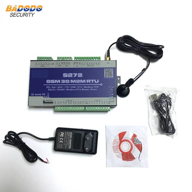 2G 3G 4G LTE Mobil Modbus RTU Unterstützt AC stromausfall/Recovery Alarm Daten transparente übertragung s272
