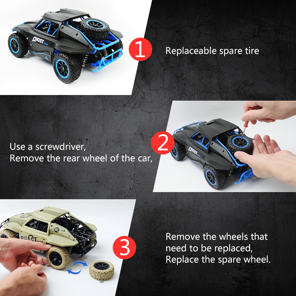 Image 5 - 1/18 RC Car 25hm/h Off road Drift Buggy 2.4GHz Radio Remote Control Racing Car Model Rock Crawler Vehicle Toys xmas gifts-in RC Cars from Toys & Hobbies