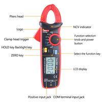 Digital Clamp Meter Multimeter AC/DC Current Voltage Capacitor Resistance Temperature Tester Voltmeter Thermometer 40~1000C