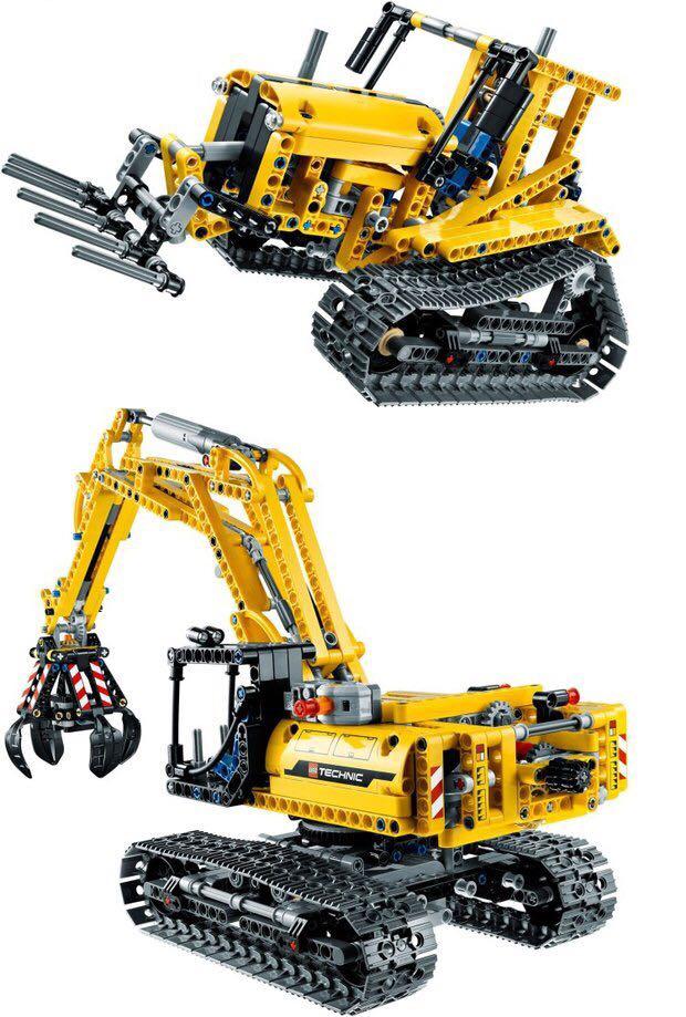 Legoed technic LepinS ville Construction pelle jouet saisir modèle kit speelgoed bloc de Construction brique Legoing jouets cadeau de noël - 2