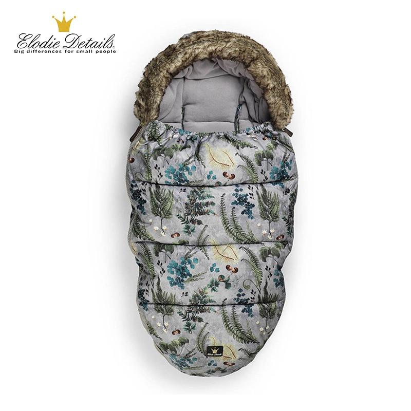 ELODIE DETAILS Baby Sleeping Bag For Newborns Winter Thick Warm Sleep Sacks For Stroller Sleep Bag For Kids Stroller Accessory все цены