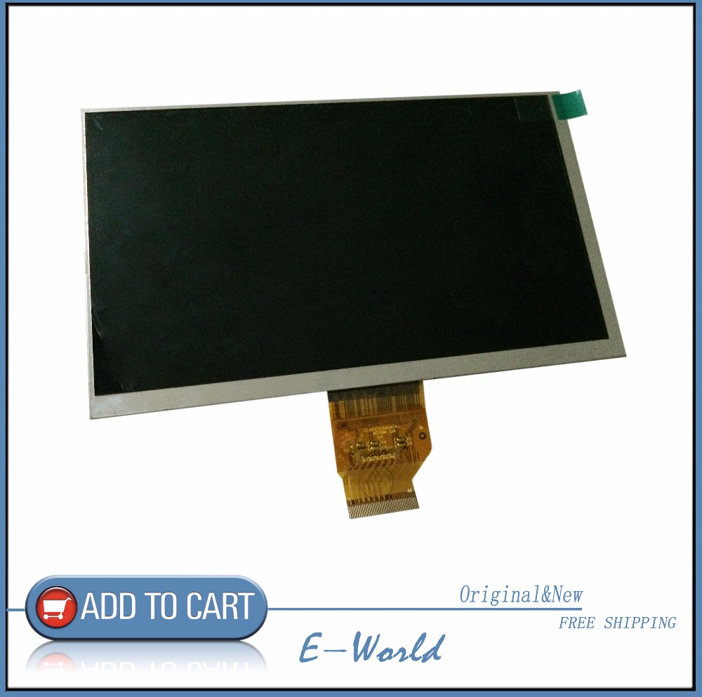Original and New 7inch 40pin LCD screen HGMF0701684003A1 AOTOM HGMF0701684003 for tablet pc free shipping