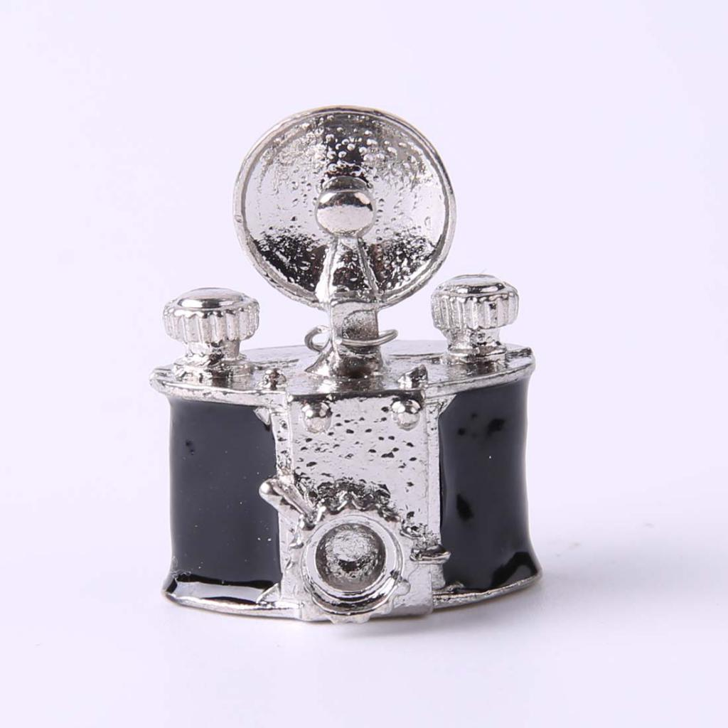 New Vintage Style Black Metal Camera Dolls House Miniature Decoration 1:12 Scale DIY Craft Dolls Accessory Doll House Decoration