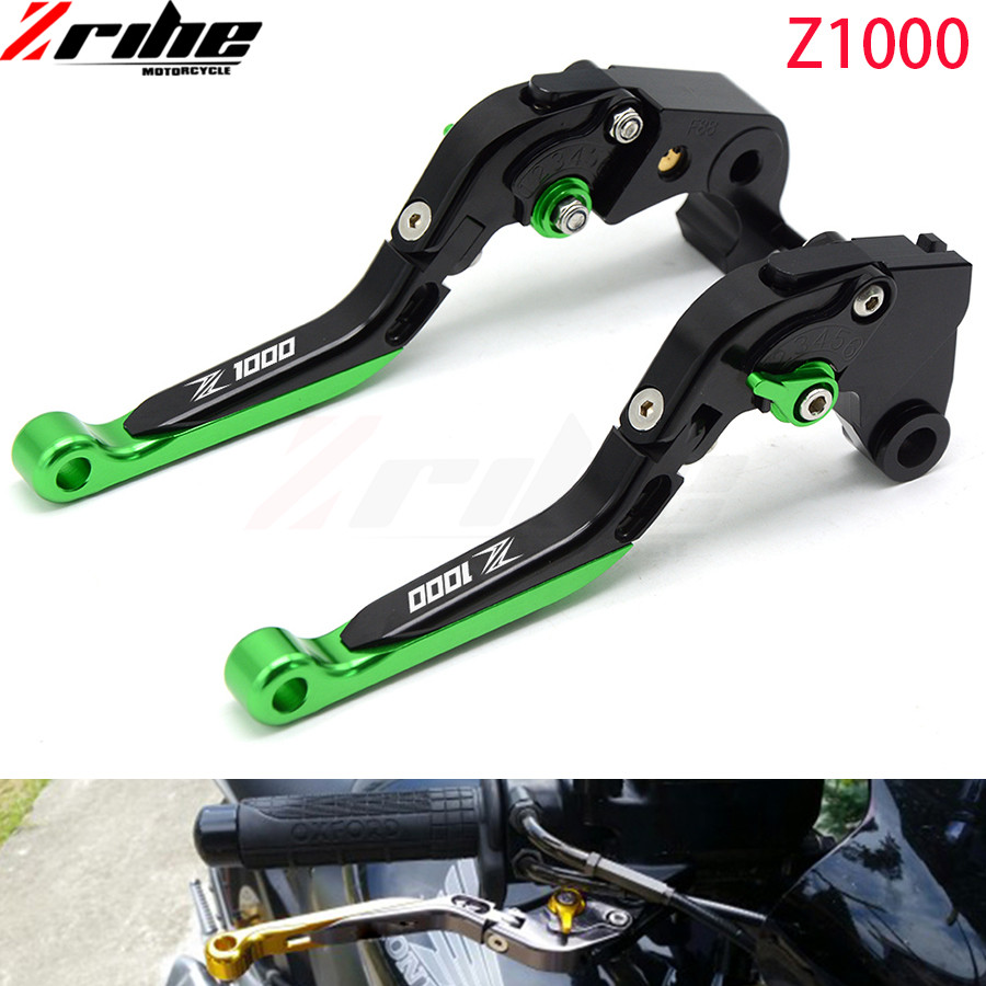 For Kawasaki Z1000SX/NINJA 1000/Toure Z1000 SX 2007-2016 2008 2009  Motorcycle aluminum Accessories Black Cnc Brake Clutch Lever for kawasaki ninja 250 ninja250 2008 2015 ninja 300 ninja300 2013 2015 motorcycle aluminum short brake clutch levers black