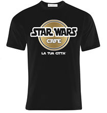 T-shirt Uomo Star Wars Cafe, Hard Rock Inspired, Scrivi La C Che  Hip Hop Novelty T Shirts MenS Brand Clothing Top Tee