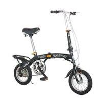Sıcak satış 16 inç 14 inç katlanır bisiklet V frenler Çocuk bisiklet 7 hız dağ çocuk bisikleti çift mini bisiklet