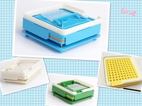 0 S 100 Holes 6 Piece Set ABS Capsule Filling Board Capsule Filling Device Manual Capsule