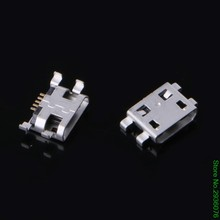 New 10 Pcs Type B Micro USB 5 Pin Female Charger Mount Jack Connector Port Socket(China)