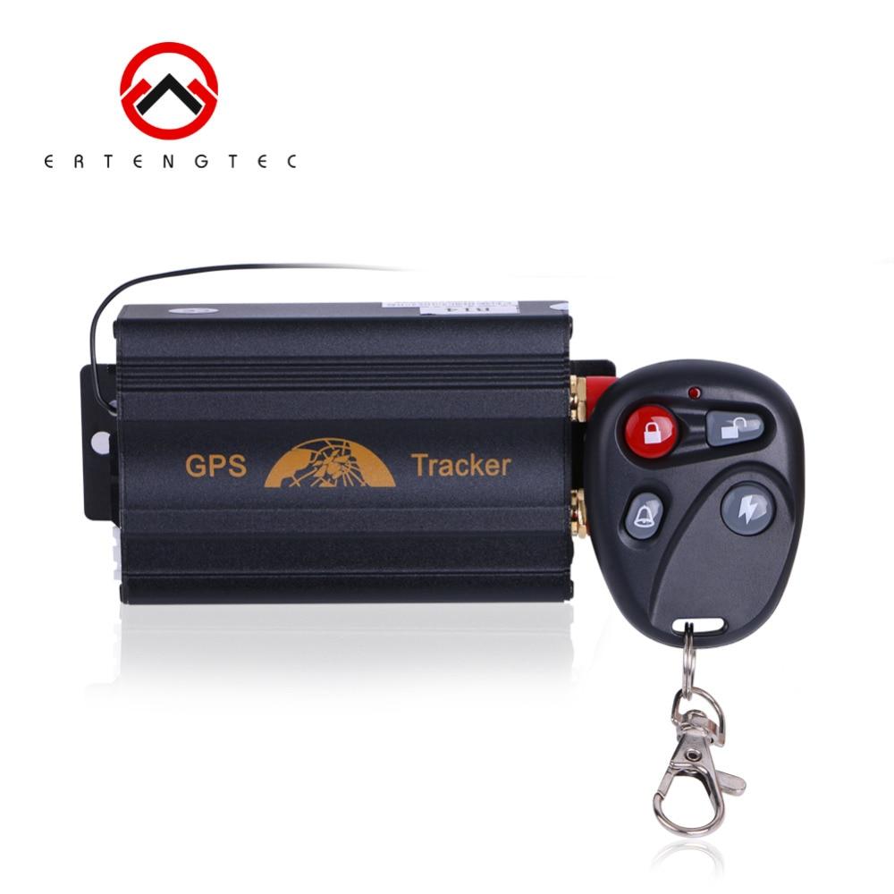 GPS Tracker Dispositif De Suivi De Voiture Sur Chenilles Retenue Coban TK103B Couper huile GSM GPS Locator Voix Moniteur Choc D'alarme LIVRAISON Web APP