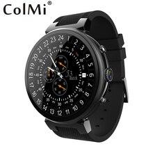 Colmi Смарт-часы i3 Оперативная память 2 ГБ Встроенная память 16 ГБ 2MP Камера ОС Android 5.1 3 г WI-FI GPS сердце скорость Мониторы SmartWatch для Android IOS Телефон